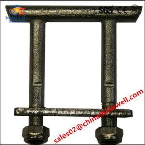 Forged Cleat Truck Rope T T Lashing Ring pictures & photos