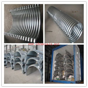 Length 1100mm Corrugated Culvert Steel Pipe pictures & photos