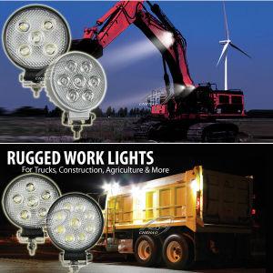 15W/18W/21W/27W 4.7 Inches Round LED Work Lights