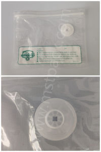 Simple Printed Vacuum Packaging Bag with Zipper pictures & photos