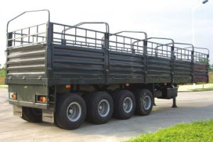 Sinotruk Huawin 4-Axle Storehouse Semi Trailer pictures & photos