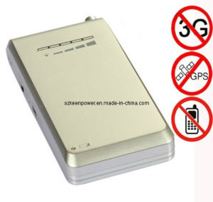 Mobile Phone Style Mini GPS + Cellphone Signal Jammer (SJ8034) pictures & photos