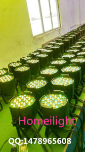 Manufacturer LED 4PCS 3W*54 High Power Non Waterproof PAR Lamp Free Shipping pictures & photos