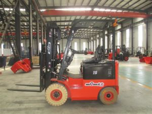 1.5ton Hot Sale Container Battery Forklift Truck (CPD15J)