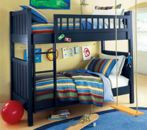 American Style Children Solid Wood Bunk Bed with Good Price (M-X1160) pictures & photos