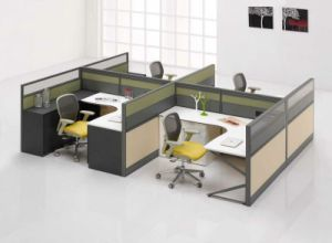 modern modular partition 2 person office workstation office screen hyc9