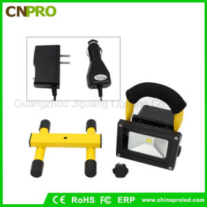 10W LED Work Light Flood Light Portable Rechargeable Emergency Light pictures & photos