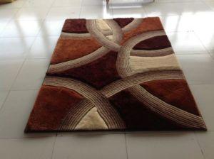 Wholesale 3D Elastic Filament Yarn 300d Bright Silk Carpet pictures & photos