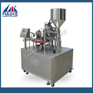 Fuluke Fgf-B Semi-Auto Filling and Sealing Machine pictures & photos