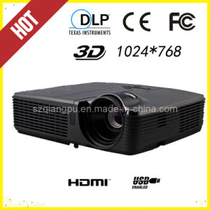 3500 ANSI Lumens Education Home Theater 3D Ready DLP Projector (DP-307) pictures & photos