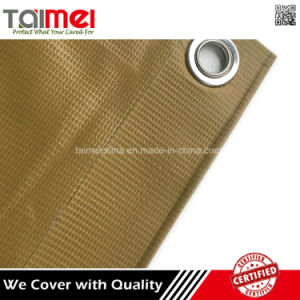 Fire Retardant PVC Laminated Rolling Tarp Fabric pictures & photos