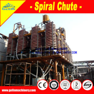 High Efficiency Spiral Separator for Alluvial Coltan Recovery pictures & photos