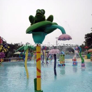 Lotus & Frog Spray for Water Park, Aqua Play Equipment pictures & photos