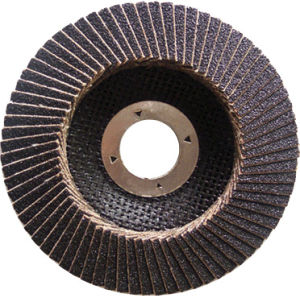 Flap Disc with Fiberglass Backing, Silicon Oxide pictures & photos