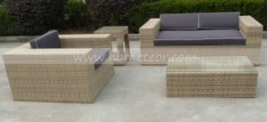 Garden Rattan Sofa Set Outdoor Wicker Furniture (MTC-134) pictures & photos