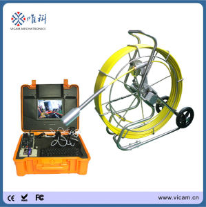 CCTV System 60m Fiberglass Cable Borehole Inspection Camera (V10-3288) pictures & photos