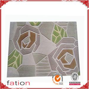 100% Polyester Shaggy Carpet Special Handmade Area Bath Rug pictures & photos