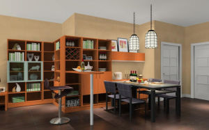 Modern Dining Room Furniture with Glass for Home Furniture (zp-002) pictures & photos