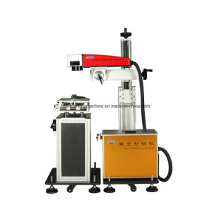 Operation Line 20W Fiber Laser Marking Mcahine with X&Y Movement Mount pictures & photos
