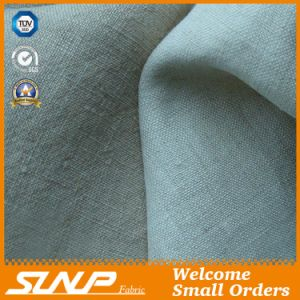 100% Linen Breathable Fabric for Garment Textile
