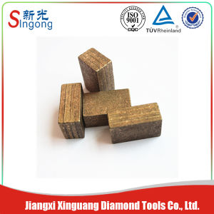 Block Shape Diamond Segment for Stone Cutting Block Quarrying Cutting pictures & photos