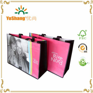 Wholesale Resuable Laminated Non Woven Foldable Shopping Bag for Promotion pictures & photos