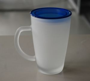 10oz Glass Drinking Cup with PP Lid (AYA4020)
