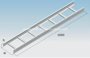 Type B Hot DIP Galvanized Cable Ladder Tray pictures & photos