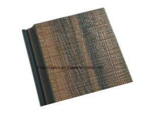 Mixed Color Capped Outdoor Decking Composite WPC Cladding