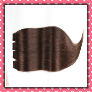 6A Grade High Quality PU Skin Weft Hair Extensions 22inch pictures & photos