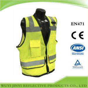 ANSI Hi Vis Safety Vest (New design)