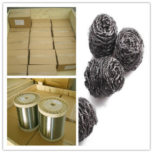 0.13mm Stainless Steel Wire 410 for Making Scourer pictures & photos