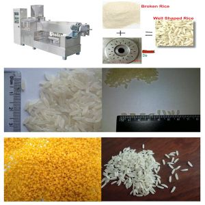 High Yield Long Rice Artificial Rice Making Machine pictures & photos