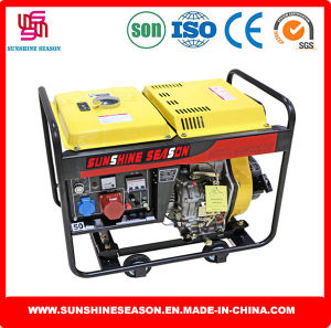 6kw Open Design Diesel Generator for Home & Power Supply pictures & photos