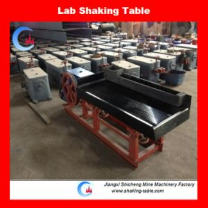 Laboratory Mini Shaking Table for Mineral Lab Seaprating Test pictures & photos
