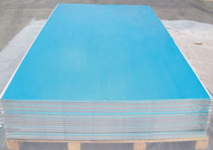 1050 1060 1100 Aluminum Sheet with Blue Film Covered pictures & photos
