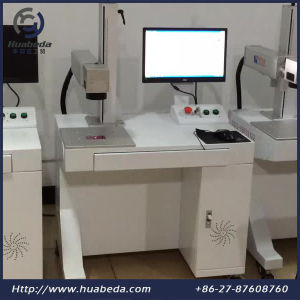 Portable Mini Fiber Laser Marking Machine, Desktop Fiber Laser Marking Machine with Ce pictures & photos