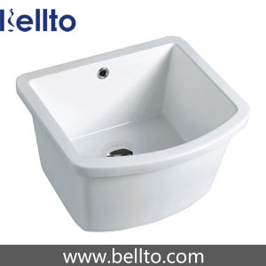 Square Ceramic Laundry Tub for Bathroom Fixture (961) pictures & photos