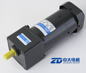ZD 90mm 90W 110V/220V AC Reversible Brush or Brushless Gear Motor pictures & photos