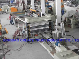 New Technology Three Roll Plastic Calender/Plastic Calender Machine / Plastic Sheeting Machine pictures & photos