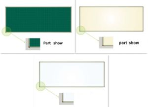 Poreclain Surface Magnetic Whiteboard for Classroom pictures & photos