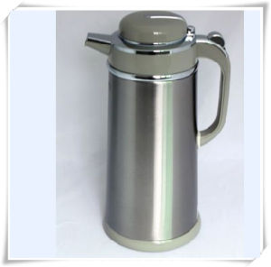 Double Walled Stainless Steel Vacuum Flask Coffee Maker Milk Pot pictures & photos
