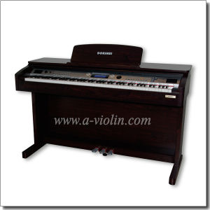 Black Digital Piano 88 Hammer Keyboard Upright Piano (DP609) pictures & photos