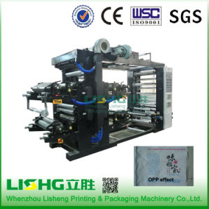 Ytb-41200 High Technology Plastic PE Film Flexo Printing Machinery pictures & photos