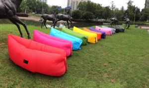 Lounger Sofa, Fast Inflatable Camping Couch, Lazy Sleeping Bag, Hangout Nylon Bed pictures & photos