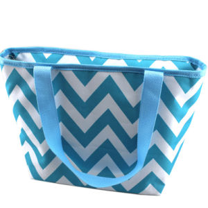 Customized 600d Cooler Tote Bag for Lunch Box