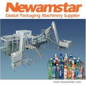Pet Bottled Beverage Filling Machines