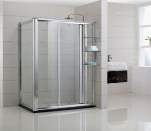 Framed Rectangular Sliding Shower Enclosure (YTZ-005)
