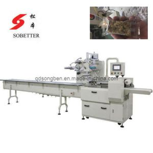 Cereal Bar Packing Machine with Feeding pictures & photos