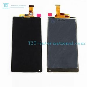 Factory Wholesale LCD for Sony L35h/Lt35/Xperia Zl Display pictures & photos